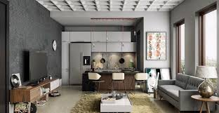 cloison cuisine salon séparation entre cuisine et salon quelle cloison envisager