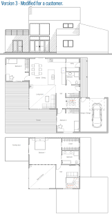 Rooftop Deck House Plans Modern House Ch18 Info For House Plan Buyers House Plan