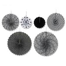black and white striped tissue paper haochu 6pcs set 20cm 30cm 40cm colorful striped tissue paper fan