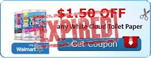 White Cloud Bathroom Tissue - walmart white cloud green earth 6 triple rolls bath tissue 2 68