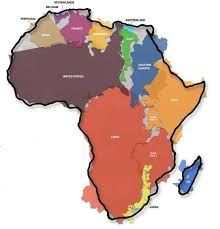 Africa Meme - this graphic of africa s actual size will blow your mind