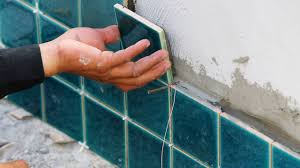how to install ceramic tiles on exterior walls youtube