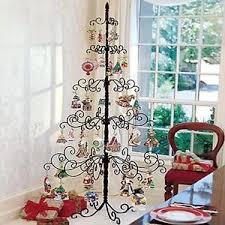 wrought iron tree metal stand ornament display 7