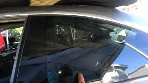 bmw e46 m3 330ci 325ci rear quarter window glass removal coupe