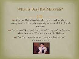 bar mitzvah presentation