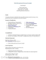 Receptionist Jobs Description For Resume by Scholarship Resume Templates Sample High Resume For