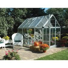 palram snap u0026 grow hobbyist greenhouse u2014 6ft w x 8ft l model