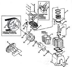 campbell hausfeld compressor parts list engine diagram and