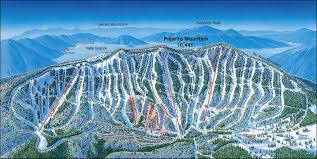 Map Of Colorado Ski Areas by Mountain Ski Area