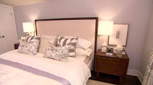 bedroom brown nightstands white tufted queen headboard navy blue