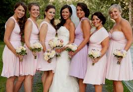 bridesmaids dresses different colors choice image braidsmaid