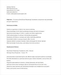 Online Marketing Resume by Marketing Resume Samples 43 Free Word Pdf Documents Download