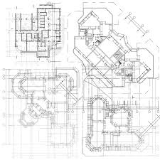 architect plans architectural background part of architectural project
