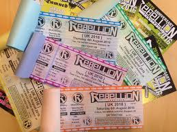 ticket warning the rebellion festival 2016 is close to being