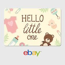 ebay digital gift card baby designs email delivery ebay