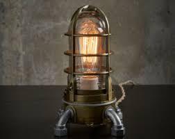 edison desk lamp etsy