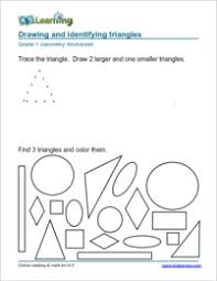 1st grade geometry worksheets k5 learning