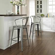 Metal Kitchen Chairs Decorating Lafayette Natural Wood Top Kitchen Island By Crosley