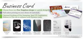 quality business card printing singapore name card printing