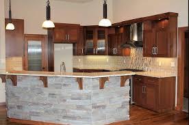 hard maple wood red prestige door kitchen island back panel