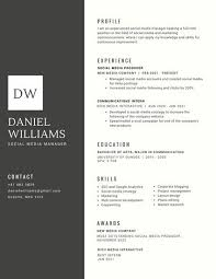 corporate resume template black with white shape for initials corporate resume resume design