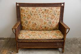 Rattan Settee Antique Sofas Online Shop Shop Antique Sofas At Pamono