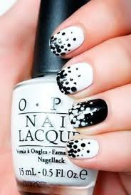21 elegant black and white diy nail art tutorials art tutorials