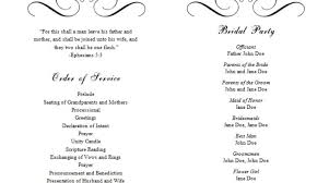 print your own wedding programs 20 wedding programs templates ideas diy wedding 38902