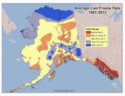 Alaska Weather Map by Deep Cold Interior And Northern Alaska Weather U0026 Climate Last