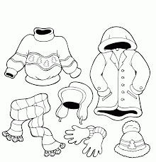 january coloring pages for kindergarten winter clothes worksheets kindergarten homeshealth info