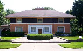 Frank Lloyd Wright Prairie Style by Winslow House River Forest Illinois Wikipedia
