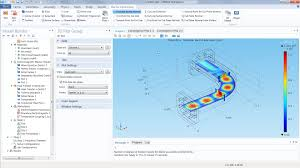 microwave and rf design software simulating electromagnetic waves