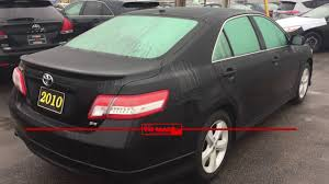 toyota pre owned 2010 toyota camry se black tri mac toyota pre owned youtube