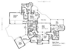 country cottage floor plans floor plan of european country house plan 66010