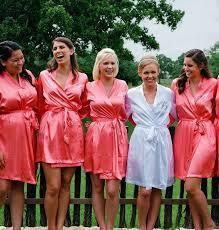 bridesmaid satin robes kimono robe bridesmaids new wedding ideas trends