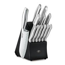 amazon com hampton forge 13 piece kobe cutlery block set