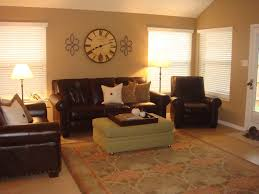 living room color ideas with brown couches round brown lacquered