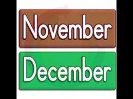 months of the year macarena youtube