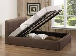 amazing of ottoman double bed frame birlea brooklyn chocolate