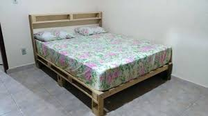 Pallet Platform Bed Bed Out Of Pallets Wooden Pallet Platform Bed King Bed Frame