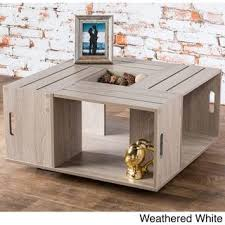 Shipping Crate Coffee Table - best 25 wine crate coffee table ideas on pinterest coffee table