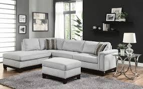 wood trim sofa 2 pc mason collection blue