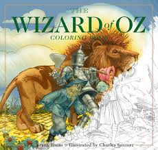 the wizard of oz coloring book book by charles santore