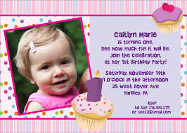 Samples Of Invitation Card Sample 1st Birthday Invitation Card Iidaemilia Com