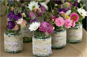 jar ideas for weddings 35 thrifty jar centerpieces that look simply amazing ritely