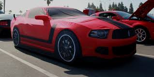 Mustang Boss 302 Black And Red 2010 2014 Mustang Custom Fit Car Covers Free Shipping 100