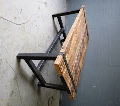 reclaimed industrial chic medieval seater solid wood and zoom