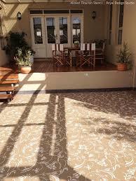 61 best stenciled concrete images on pinterest homes carpets