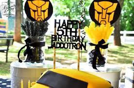 transformers birthday decorations transformers birthday party ideas photo 1 of 11 catch my party