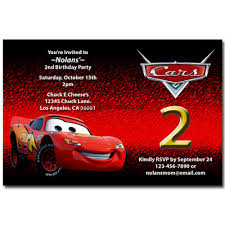 disney cars birthday party invitations eysachsephoto com